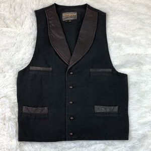 The Bunkhouse Collection By Pioneer Wear Vest J28P